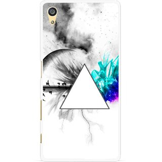 Snooky Printed Math Art Mobile Back Cover For Sony Xperia Z5 - Multi