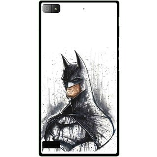 Snooky Printed Angry Batman Mobile Back Cover For Blackberry Z3 - Multi
