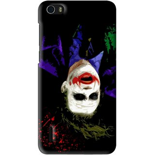 Snooky Printed Hanging Joker Mobile Back Cover For Huawei Honor 6 - Multi