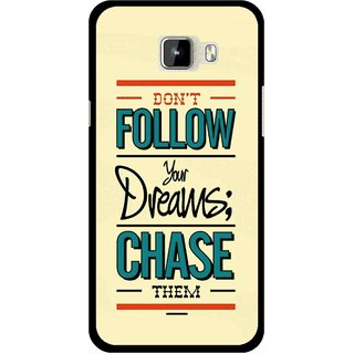 Snooky Printed Chase The Dreams Mobile Back Cover For Micromax Canvas Nitro A310 - Multicolour