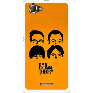 Snooky Printed Bigbang Mobile Back Cover For Sony Xperia L - Multicolour