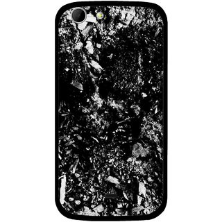 Snooky Printed Rocky Mobile Back Cover For Micromax Canvas 4 A210 - Multicolour