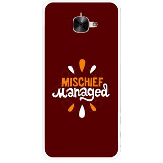 Snooky Printed Mischief Mobile Back Cover For Letv Le 2 - Multicolour