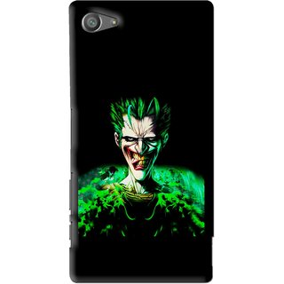 Snooky Printed Daring Joker Mobile Back Cover For Sony Xperia Z5 Compact - Multi