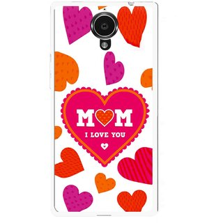 Snooky Printed Mom Mobile Back Cover For Gionee Elife E7 - White