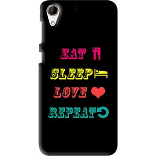 Snooky Printed LifeStyle Mobile Back Cover For HTC Desire 728 - Multi