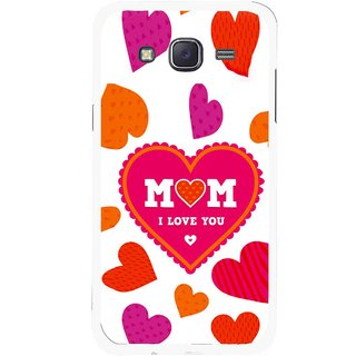 Snooky Printed Mom Mobile Back Cover For Samsung Galaxy J5 - White