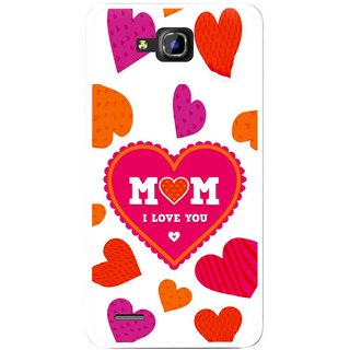 Snooky Printed Mom Mobile Back Cover For Huawei Honor 3C - White