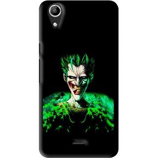 Snooky Printed Daring Joker Mobile Back Cover For Micromax Bolt Q338 - Multi