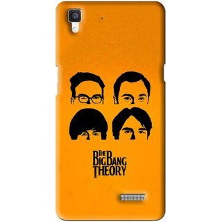 Snooky Printed Bigbang Mobile Back Cover For Oppo R7 - Multi