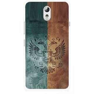 Snooky Printed Eagle Mobile Back Cover For Lenovo Vibe P1M - Multicolour