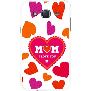 Snooky Printed Mom Mobile Back Cover For Samsung Galaxy J7 - White