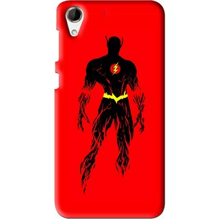 Snooky Printed Electric Man Mobile Back Cover For HTC Desire 728 - Multi