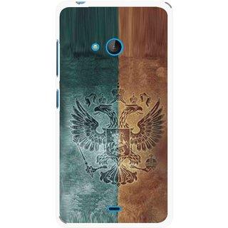 Snooky Printed Eagle Mobile Back Cover For Nokia Lumia 540 - Multicolour