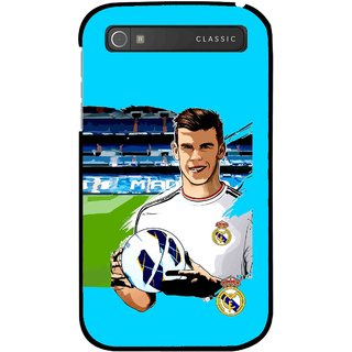 Snooky Printed Football Champion Mobile Back Cover For Blackberry Classic - Blue