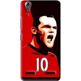Snooky Printed Sports ManShip Mobile Back Cover For Lenovo A6000 Plus - Multi
