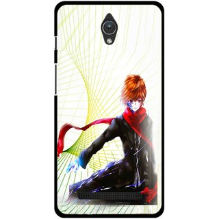 Snooky Printed Stylo Boy Mobile Back Cover For Asus Zenfone C - Multicolour