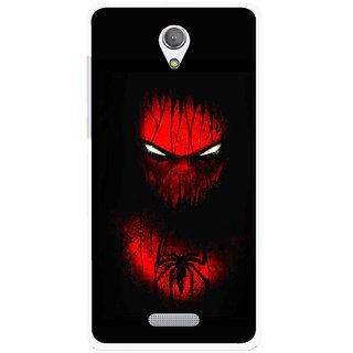 Snooky Printed Spider Eye Mobile Back Cover For Gionee Marathon M4 - Multicolour
