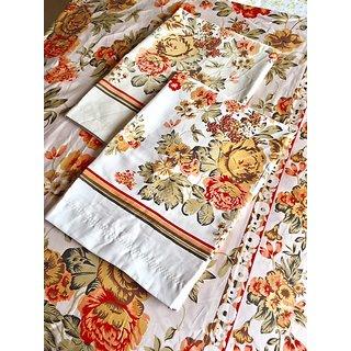 Vamasway Pure Cotton Double Bed Sheet Set