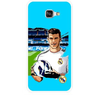 Snooky Printed Football Champion Mobile Back Cover For Samsung Galaxy A7 2016 - Blue