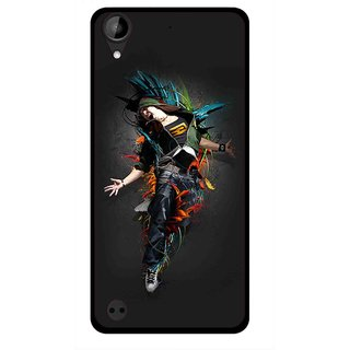 Snooky Printed Music Mania Mobile Back Cover For HTC Desire 630 - Multi