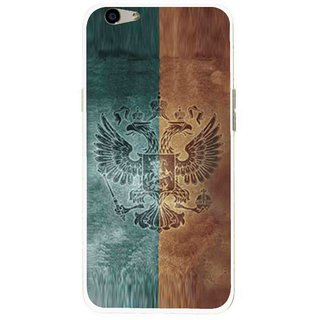 Snooky Printed Eagle Mobile Back Cover For Oppo F1s - Multi