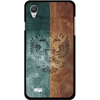 Snooky Printed Eagle Mobile Back Cover For Vivo Y11 - Multi