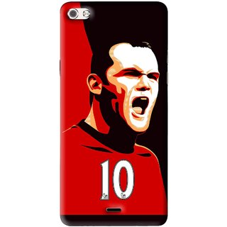 Snooky Printed Sports ManShip Mobile Back Cover For Micromax Canvas Sliver 5 Q450 - Multi