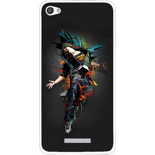 Snooky Printed Music Mania Mobile Back Cover For Micromax Canvas Hue 2 - Multi
