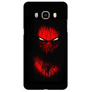 Snooky Printed Spider Eye Mobile Back Cover For Samsung Galaxy J5 (2016) - Multicolour
