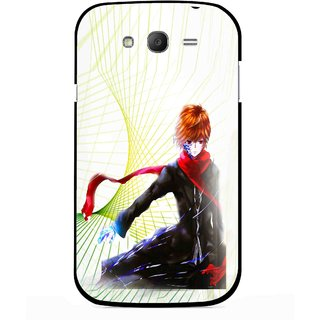 Snooky Printed Stylo Boy Mobile Back Cover For Samsung Galaxy Grand I9082 - Multicolour
