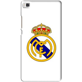 Snooky Printed Sports Logo Mobile Back Cover For Huawei Ascend P8 - Multi
