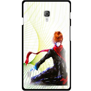 Snooky Printed Stylo Boy Mobile Back Cover For Lg Optimus L7 II P715 - Multicolour