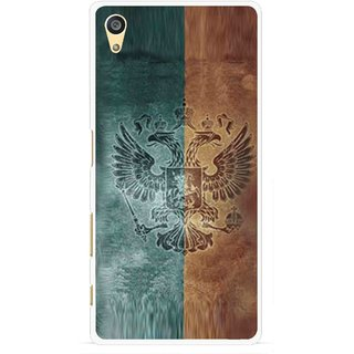 Snooky Printed Eagle Mobile Back Cover For Sony Xperia Z5 - Multi