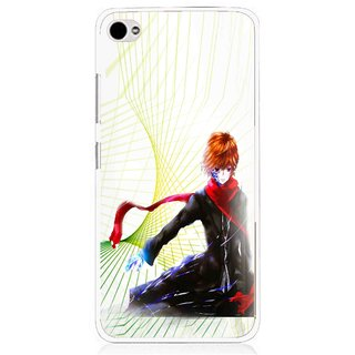Snooky Printed Stylo Boy Mobile Back Cover For Lenovo s90 - Multi