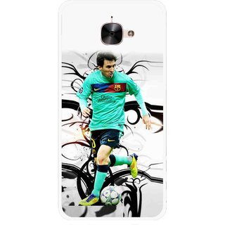 Snooky Printed Football Champion Mobile Back Cover For Letv Le 2 - Multicolour