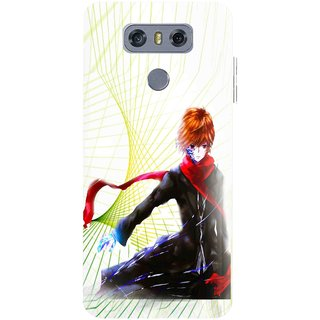 Snooky Printed Stylo Boy Mobile Back Cover For LG G6 - Multicolour