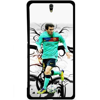 Snooky Printed Football Champion Mobile Back Cover For Sony Xperia C5 - Multicolour