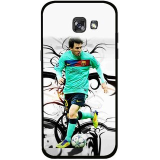 Snooky Printed Football Champion Mobile Back Cover For Samsung Galaxy A7 (2017) - Multicolour