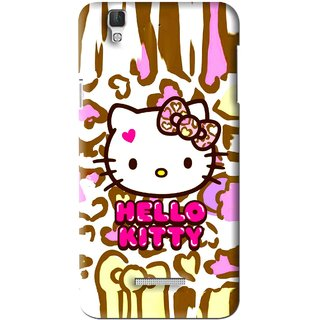 Snooky Printed Cute Kitty Mobile Back Cover For Coolpad Dazen F2 - Multi