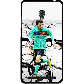 Snooky Printed Football Champion Mobile Back Cover For Asus Zenfone 5 - Multicolour