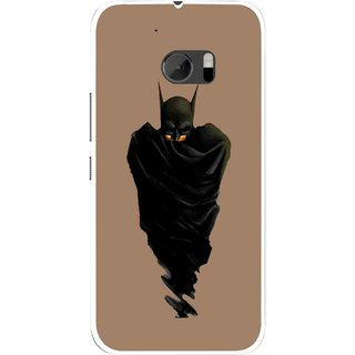 Snooky Printed Hiding Man Mobile Back Cover For HTC One M10 - Multicolour