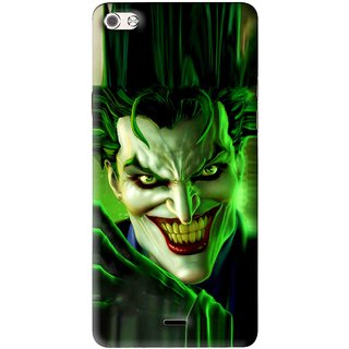 Snooky Printed Horror Wilian Mobile Back Cover For Micromax Canvas Sliver 5 Q450 - Multi