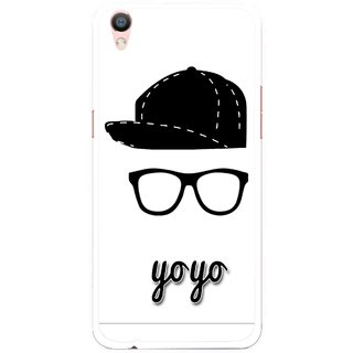 Snooky Printed Yo Yo Mobile Back Cover For Oppo F1 Plus - Multi