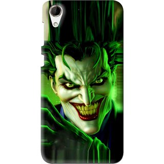 Snooky Printed Horror Wilian Mobile Back Cover For HTC Desire 728 - Multi