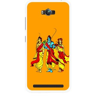 Snooky Printed God Rama Mobile Back Cover For Asus Zenfone Max - Multicolour