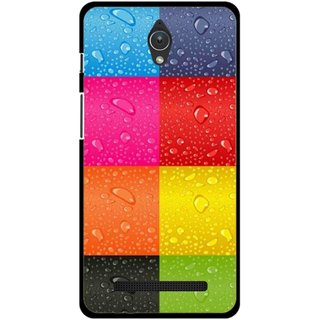 Snooky Printed Water Droplets Mobile Back Cover For Asus Zenfone C - Multicolour