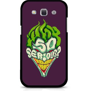 Snooky Printed Serious Mobile Back Cover For Samsung Galaxy 8552 - Multicolour