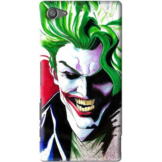 Snooky Printed Joker Mobile Back Cover For Sony Xperia Z5 Compact - Multi