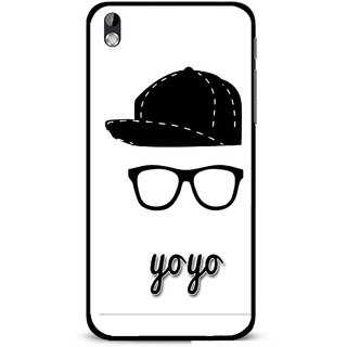 Snooky Printed Yo Yo Mobile Back Cover For HTC Desire 816 - Multi